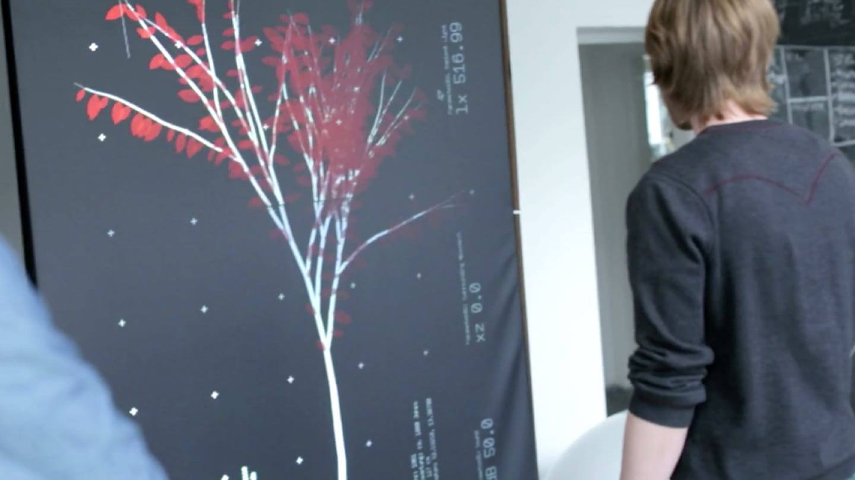 fachhochschule potsdam FHP tree kinect interactive installation