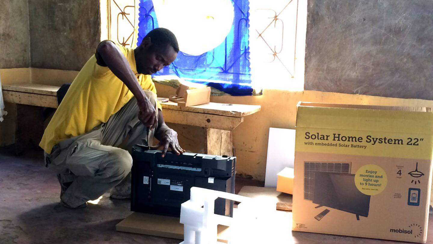 mobisol solar home system user research tanzania