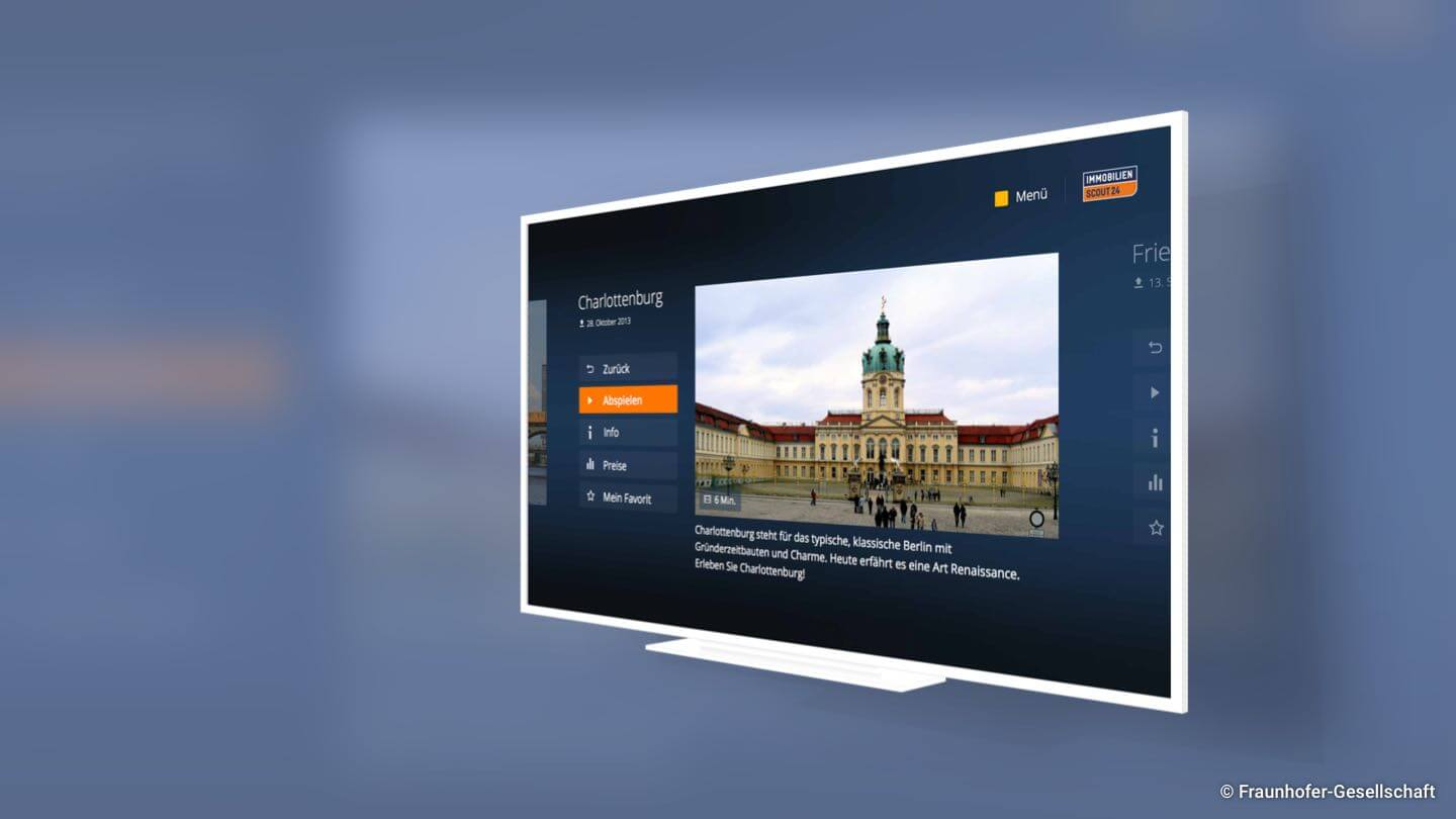 fraunhofer fokus fame smart tv interface